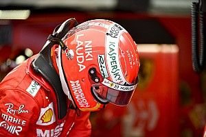 Ferrari stars pay their respects with tribute helmet designs