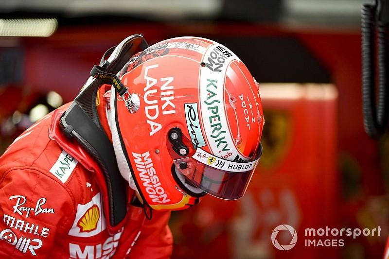 Vettel, Lauda'nın cenaze törenine Ferrari etkinliği yüzünden katılamamış
