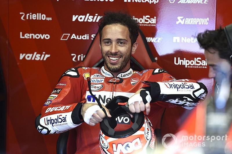 """Trois pilotes Ducati pour jouer la victoire ? """"Positif"""", selon Dovizioso"""