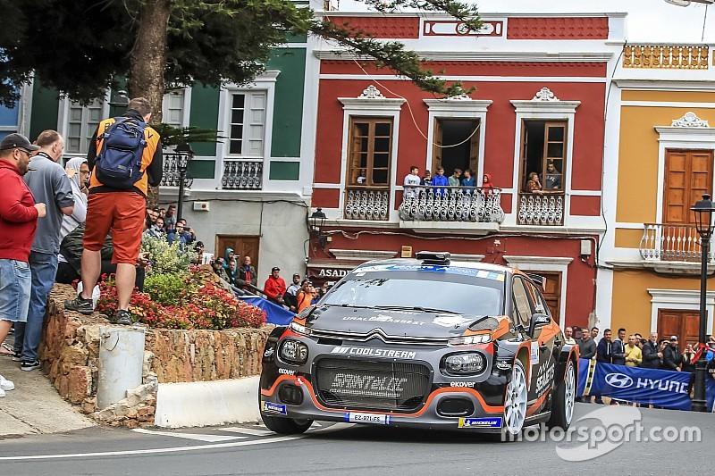 Canarie, PS7-8: Lukyanuk chiude la Tappa 1 al comando davanti a López nella doppietta Citroën