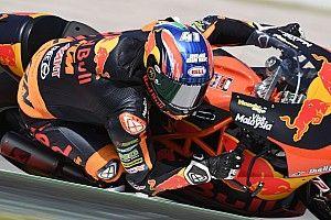 Moto2, Assen, Libere 2: Binder rimette davanti a tutti la KTM