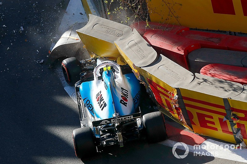 """Crash showed Kubica he needs to """"take more margin"""" with FW42"""