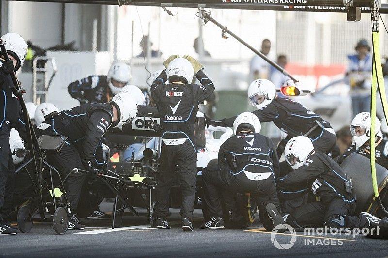 """La rapidez en los pitstops de Williams demuestra que """"no son idiotas"""""""