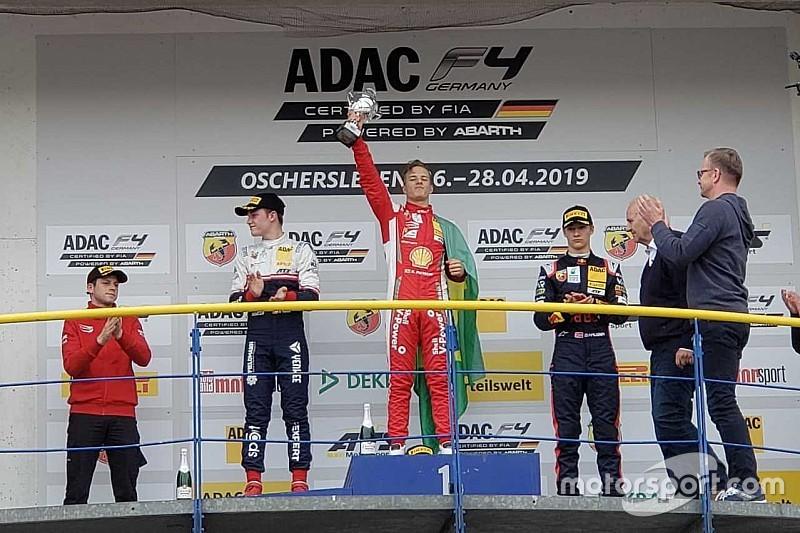 Brasileiro Petecof domina e vence prova de estreia na F4 alemã