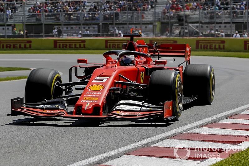 Vettel: Kanada'da en hızlı araç Ferrari'de değil