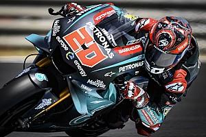 Le Mans MotoGP: Local hero Quartararo tops FP1