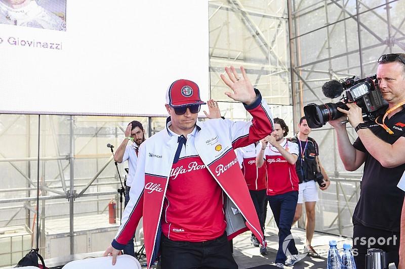 Räikkönen húzza neki a levegőben