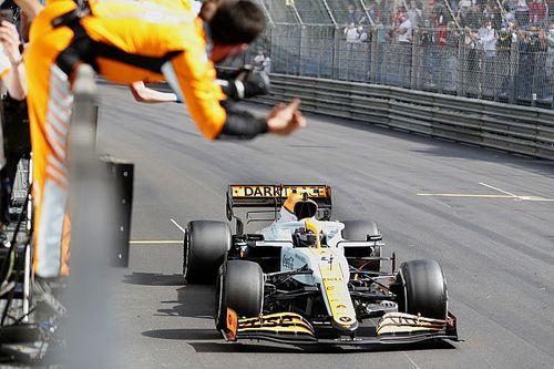 """Norris: """"Perez was sneller, maar podium in Monaco is waanzinnig"""""""