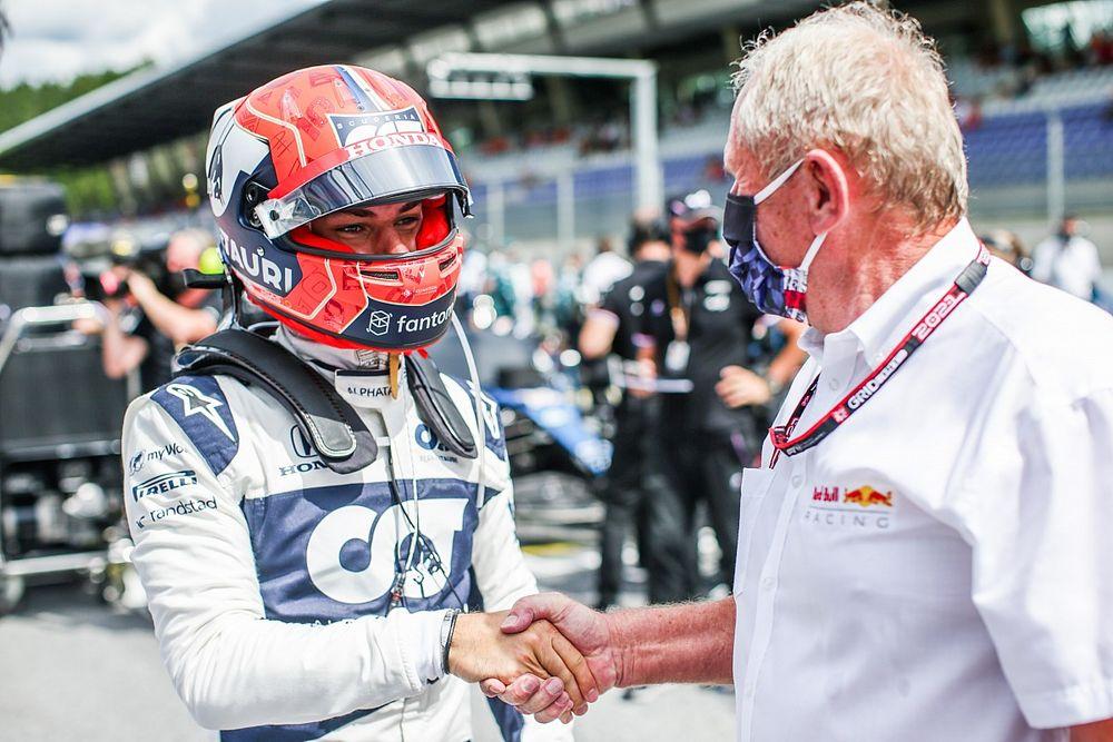 F1: Gasly se diz 'realmente positivo' sobre futuro após conversa com Marko