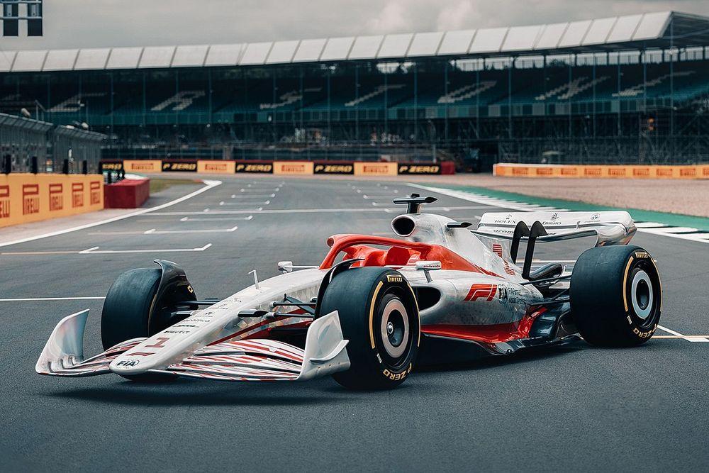 F1 2022: ecco la monoposto a effetto suolo