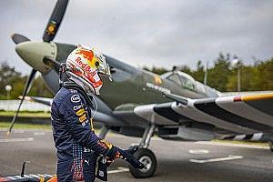 VIDEO: Verstappen versus Spitfire in 'Best of British battle'