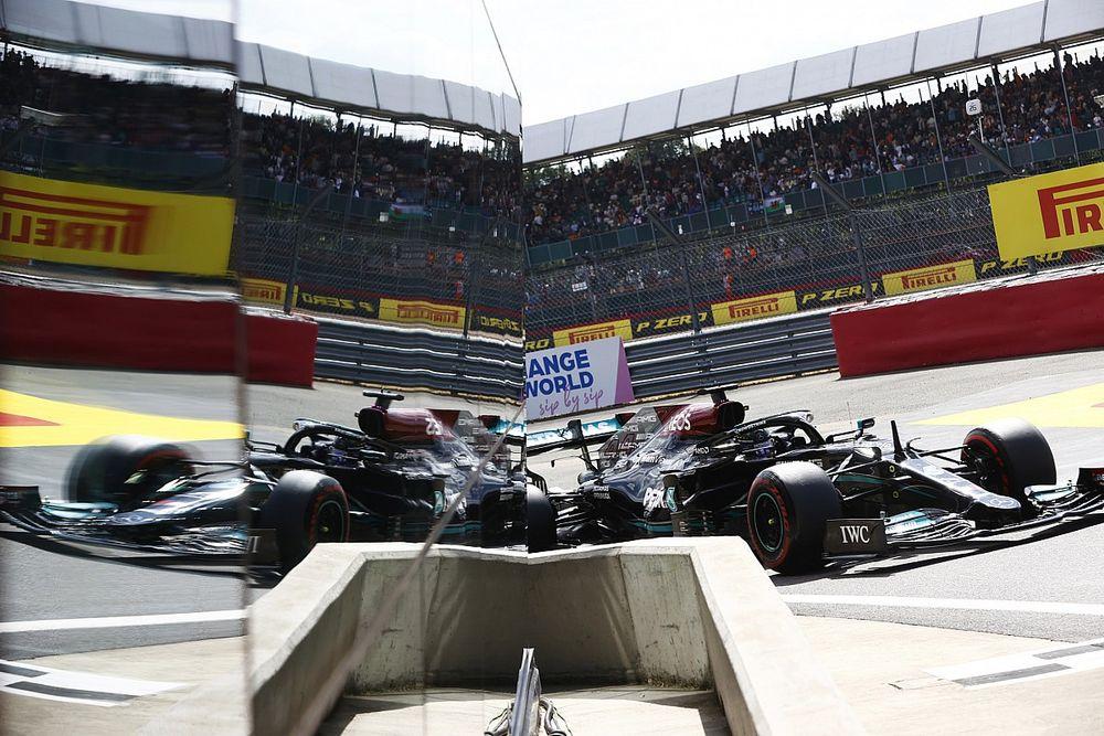 Hamilton saldrá primero en la primera carrera al sprint de F1 (sin pole)