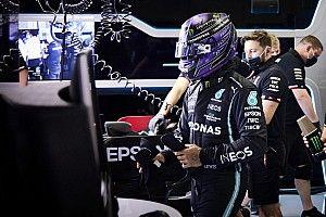 """Hamilton: """"Si no traemos mejoras, este sera el resultado habitual"""""""