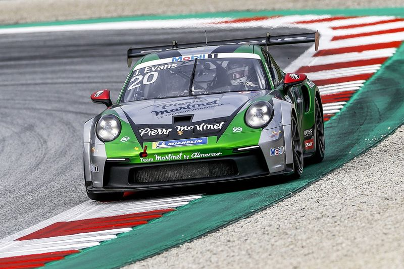 Porsche Supercup: Pereira spreca, Evans trionfa in Austria