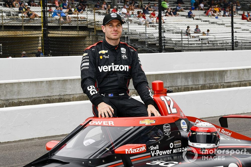 Indy 500: Power survives brush with wall to join Karam and De Silvestro on grid