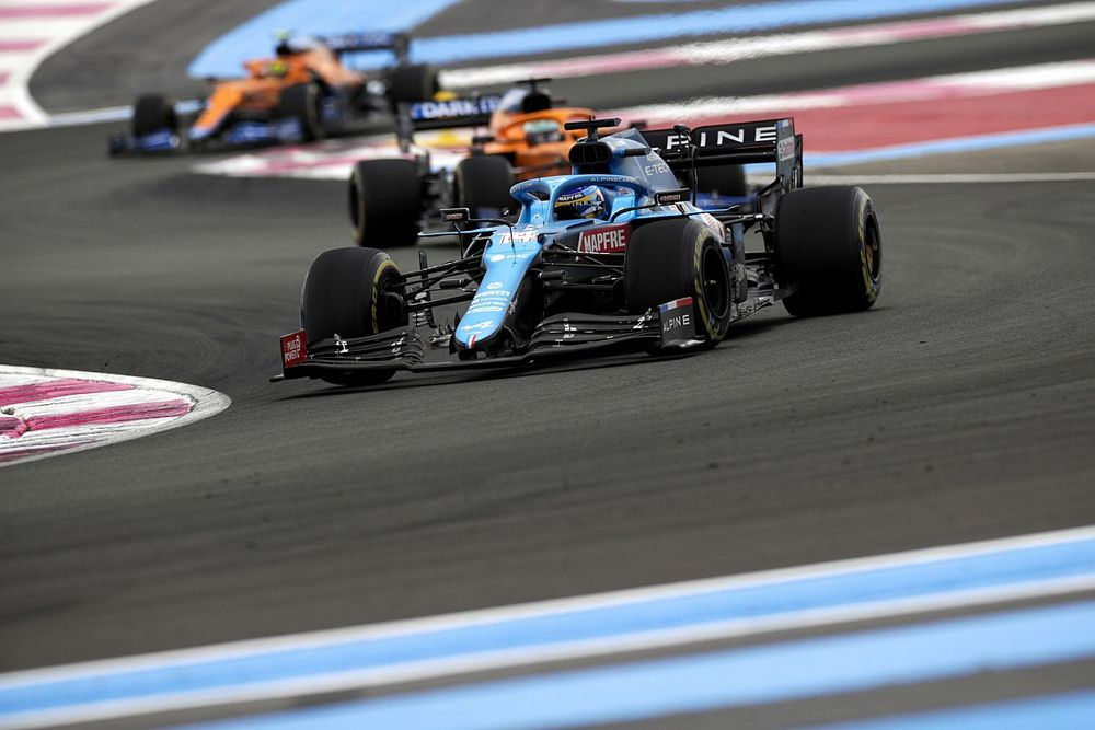 Alpine ravi qu'Alonso n'ait pas perdu ses nerfs en début de saison