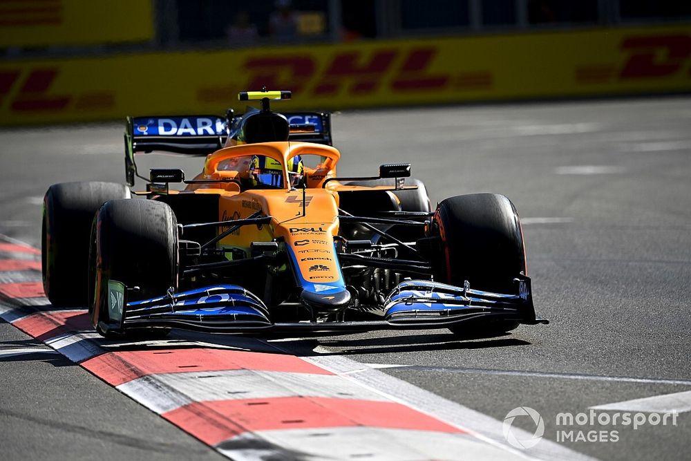 F1: Norris não poupa críticas a comissários após punição em Baku
