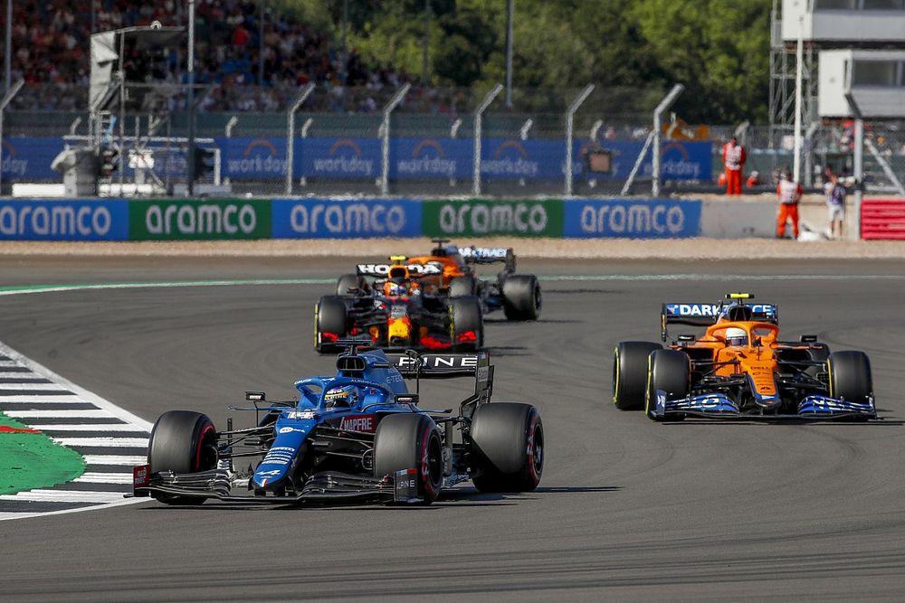 """Sprint yarışını seven Norris: """"Alonso yanlış bir şey yapmadı"""""""
