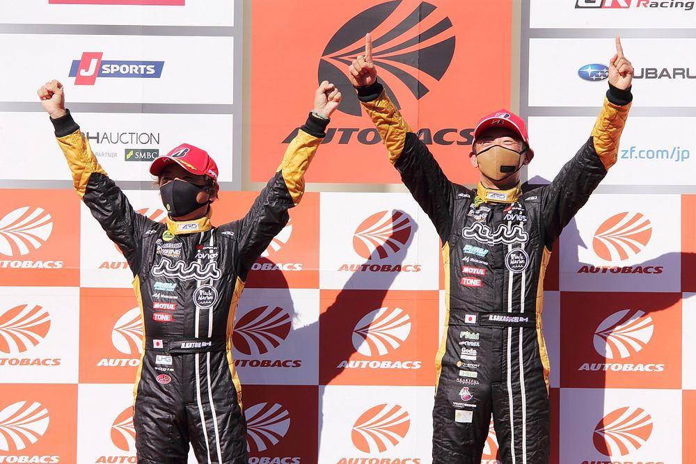 スーパーGT第4戦もてぎGT300決勝:タイミングよくFCYを利用したmuta Racing Lotus MCが優勝
