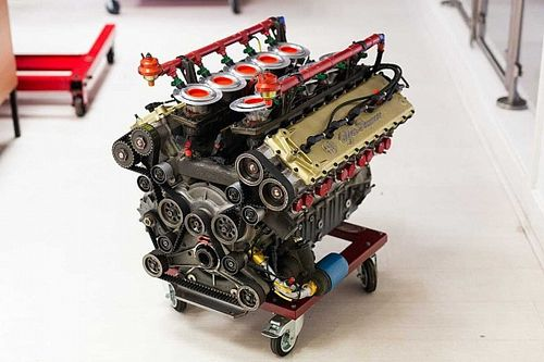 For sale: The Alfa Romeo V10 F1 engine that never raced