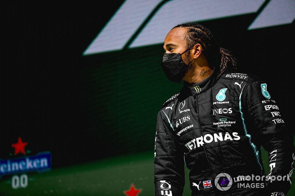 Stats Portugal 2021 - Hamilton en haut du podium le plus vu en F1
