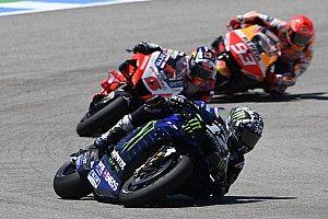 Yamaha arremete contra Marc Márquez por seguir a Viñales
