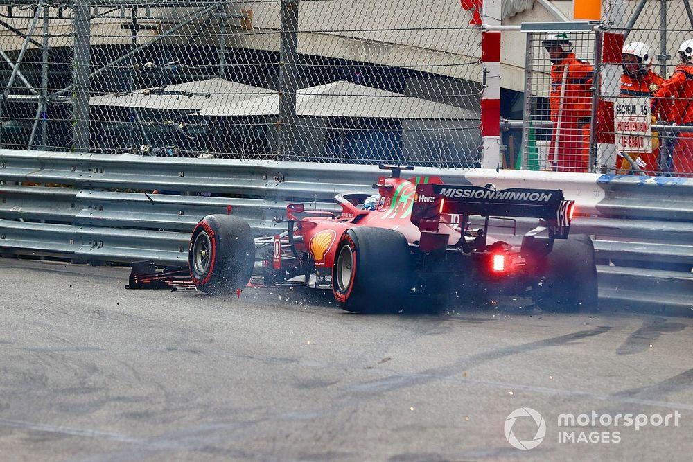 F1: Câmbio de Leclerc não possui danos significativos, mas Ferrari decidirá sobre troca no domingo