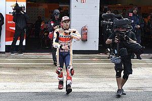 """Márquez: """"No me gustan los silbidos porque nos jugamos la vida sobre la moto"""""""