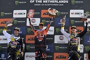 Pauls Jonass salta Imola per infortunio: Jorge Prado è campione del mondo della MX2!