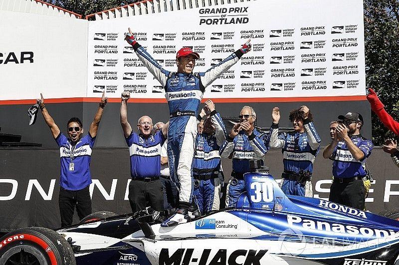 Portland IndyCar: Sato wins wild race, Dixon boosts points lead