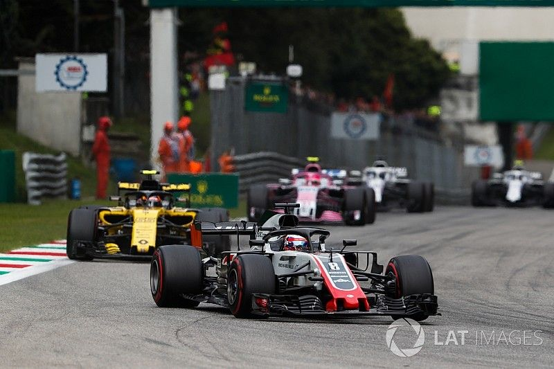Renault protests legality of Grosjean's Haas
