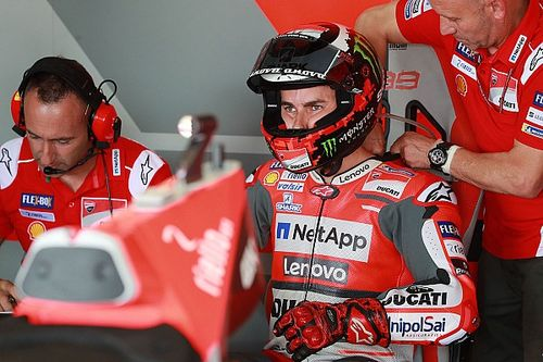 Lorenzo withdraws from Motegi MotoGP round