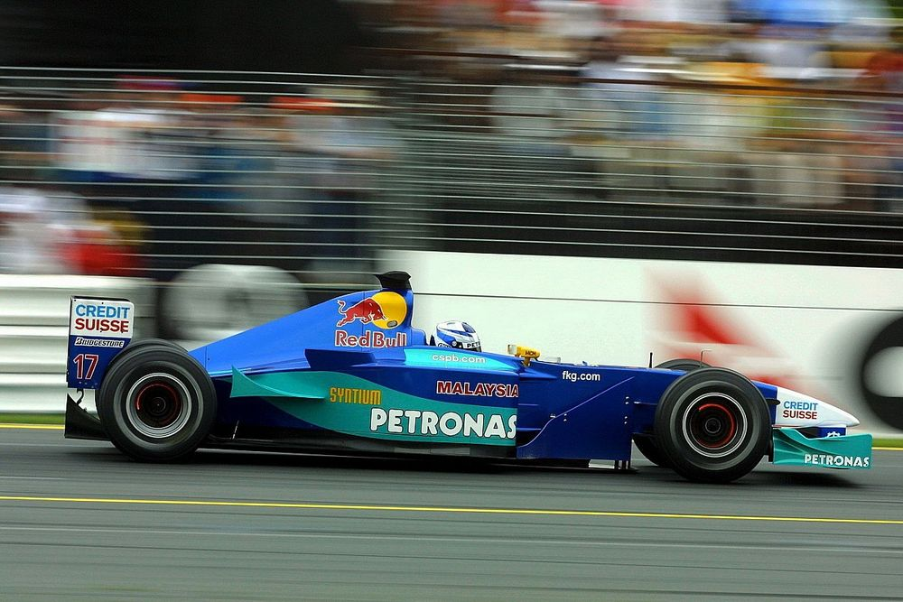 Retraite Räikkönen : 2001, son premier Grand Prix