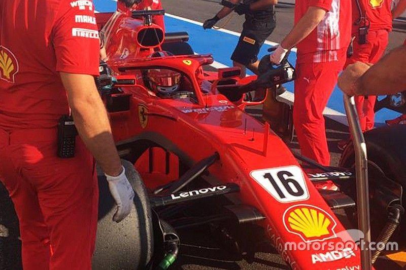 Leclerc productief tijdens Pirelli-bandentest voor Ferrari