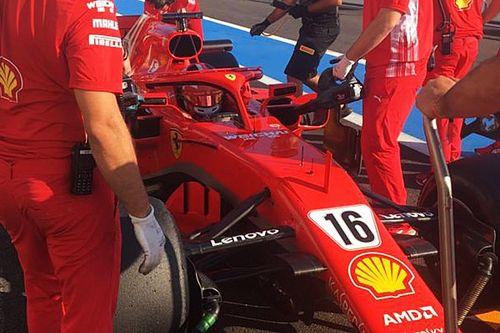 Leclerc a bouclé l'équivalent de deux GP lors des tests Pirelli 2019