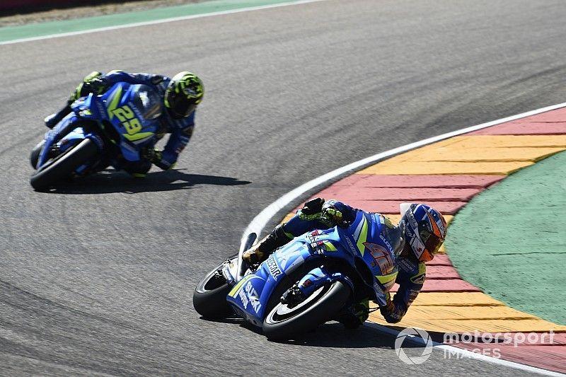 Verliezen MotoGP-concessies laat Suzuki-rijder Rins onberoerd