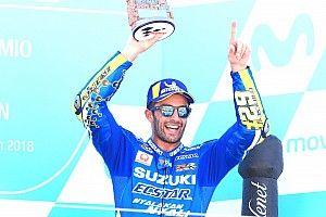 """Suzuki verliert Privilegien durch Iannone-Podium: """"Ein wirklich tolles Rennen"""""""