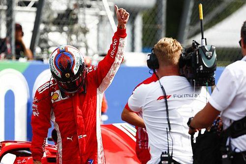 Ferrari: storica prima fila monzese, ma valgono i 14 millesimi di Seb da Hamilton