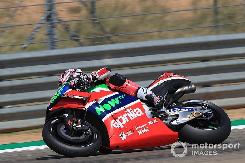 Lampo Aprilia ad Aragon: Aleix Espargaro eguaglia il miglior risultato in MotoGP