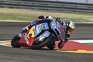 FP3 Moto2 Aragon: Marquez unggul tipis dari Schrotter