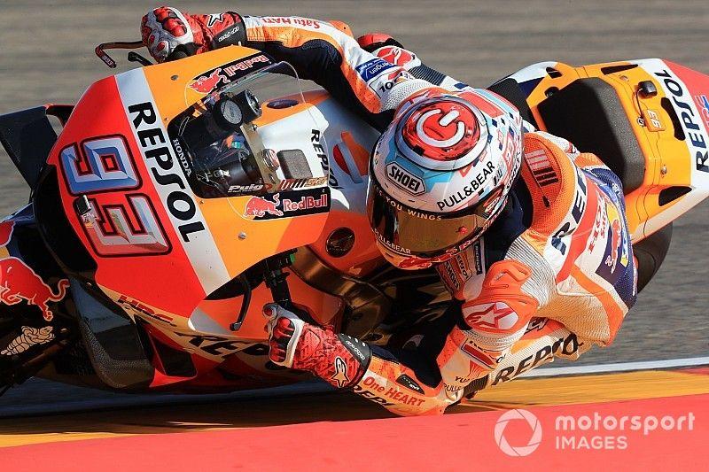 Aragon MotoGP: Marquez outduels Dovizioso, Lorenzo crashes
