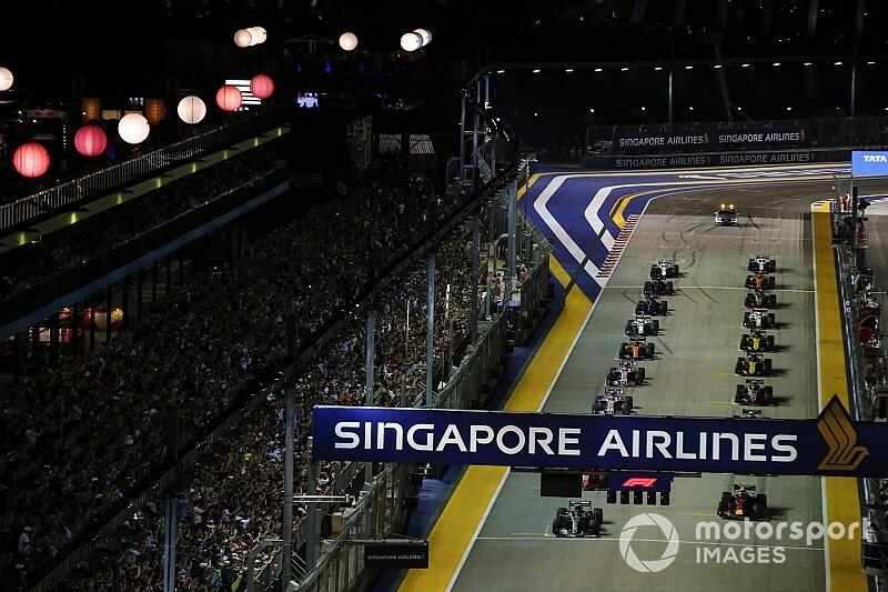 Гран При Сингапура: стартовая решетка