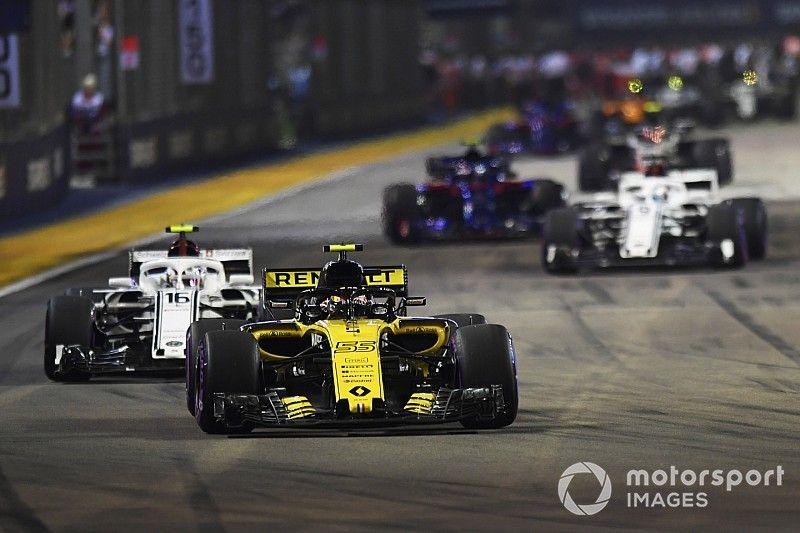 Renault sceptisch over aanpassingen om inhalen in 2019 te verbeteren