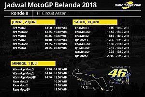 Jadwal lengkap MotoGP Belanda 2018