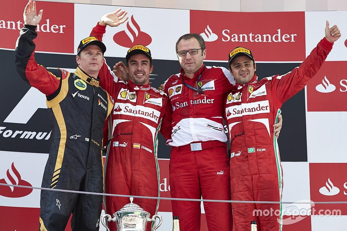 Domenicali szerint Alonso egy matematikai ász volt, és szerinte nem száll ki a Ferrari