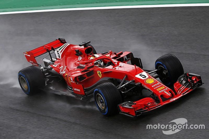 Pérez Räikkönen előtt az első edzésen Monzában: Vettel váltócsere