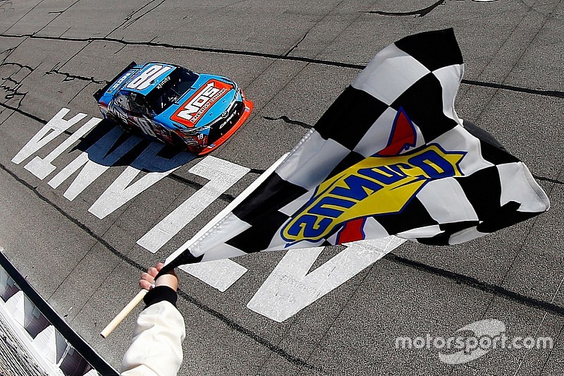 Kyle Busch checks off another win on his Xfinity Series 'to do' list