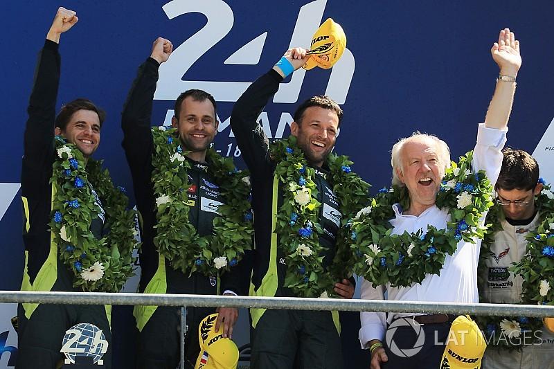 """Aston Martin apostó en la vuelta final por """"ganar o morir"""" Le Mans"""