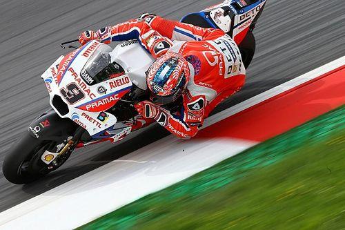 Danilo Petrucci rinuncia alla nuova carena Ducati a Silverstone