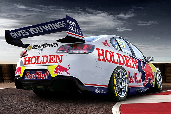 Triple Eight reveals Sandown retro livery